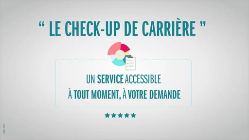 Service - Check up carrière